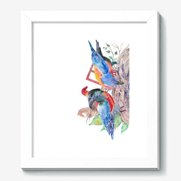 Картина «Вороны строят хоромы»