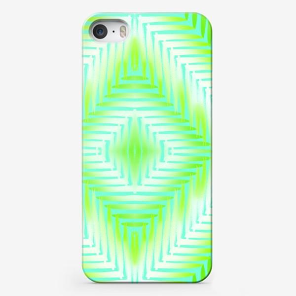 Чехол iPhone «бирюзовый паттерн»