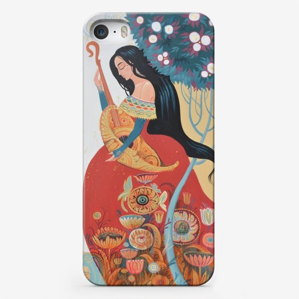 Чехол iPhone «Primavera/весна/цветение»