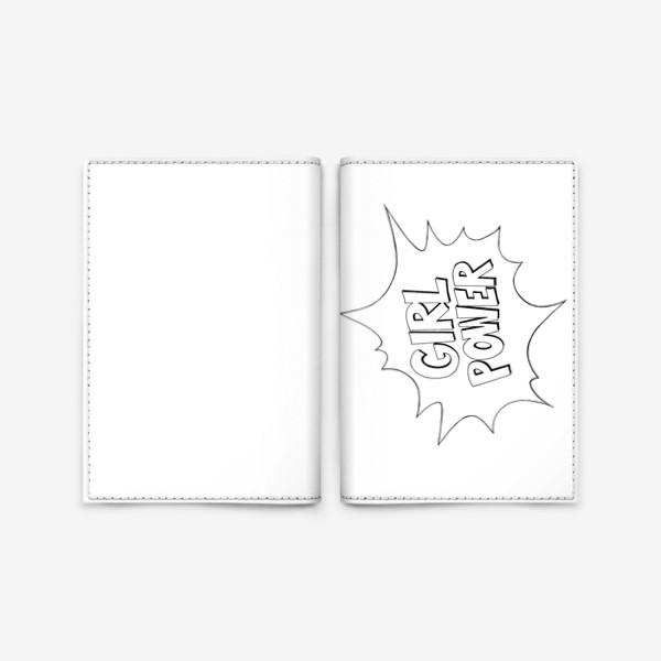 Обложка для паспорта «Girl Power. Попарт #2»