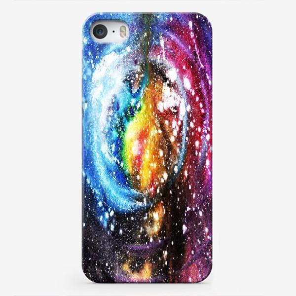 Чехол iPhone «лиловые космические дали»