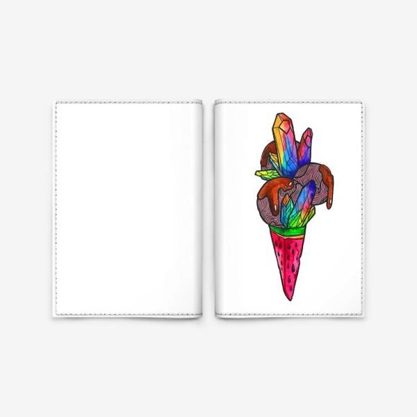 Обложка для паспорта «Мороженое»