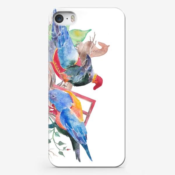 Чехол iPhone «Вороны строят хоромы»
