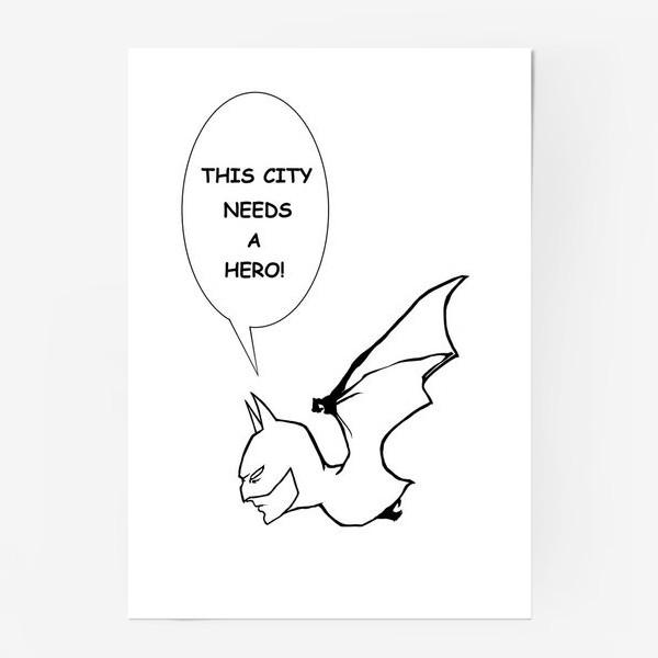 Постер «Бетмен #2»