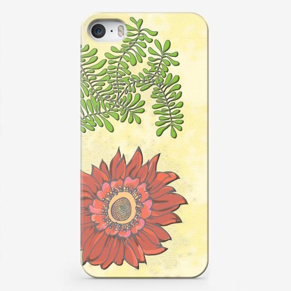 Чехол iPhone «Пано цветочное»