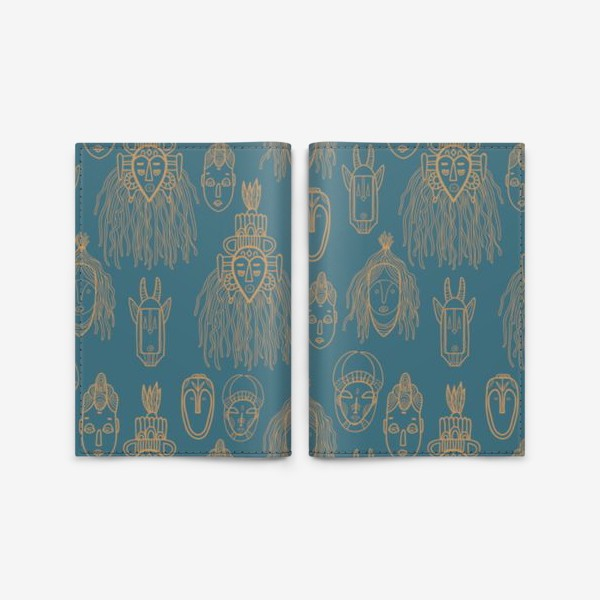 Обложка для паспорта «Mystic Africa»