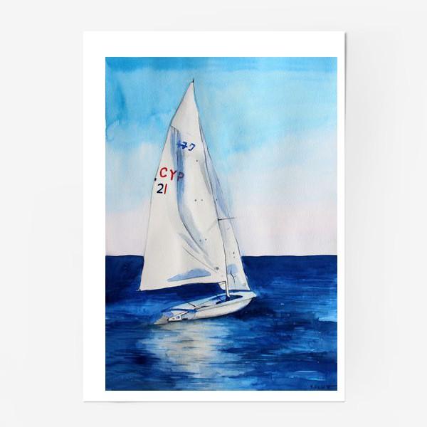 Постер «Белый парус»