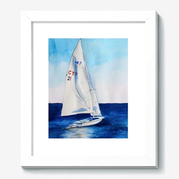 Картина «Белый парус»