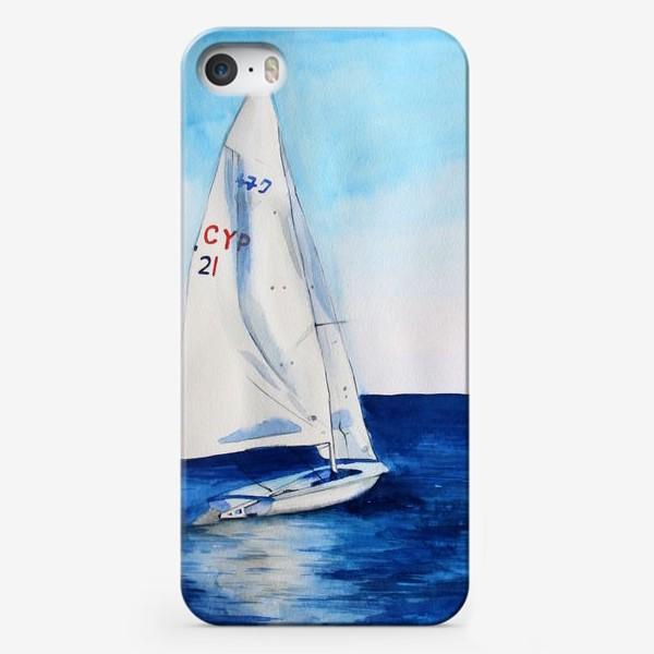 Чехол iPhone «Белый парус»