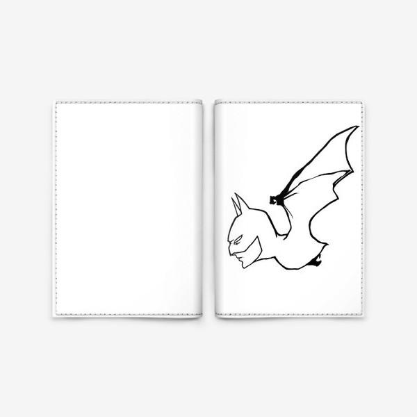 Обложка для паспорта «Бетмен»