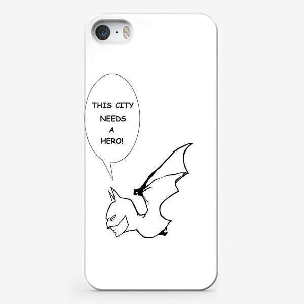Чехол iPhone «Бетмен #2»