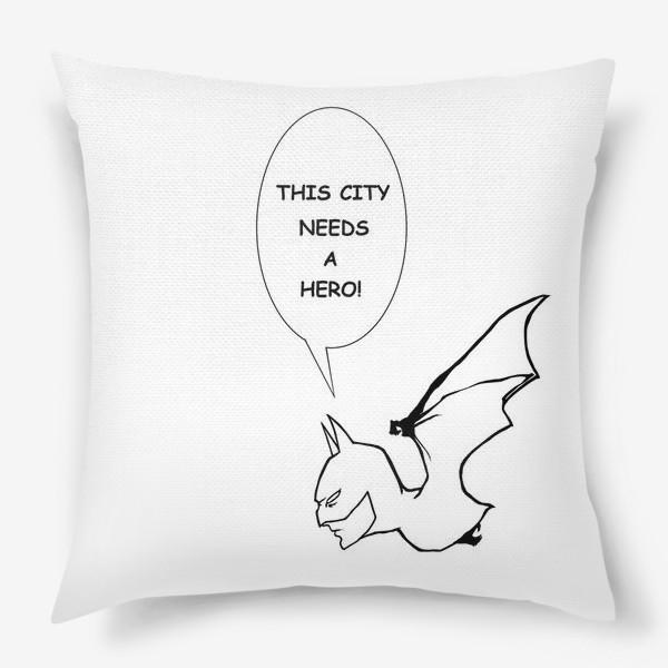 Подушка «Бетмен #2»