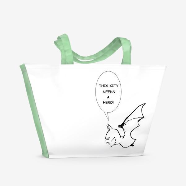 Пляжная сумка «Бетмен #2»