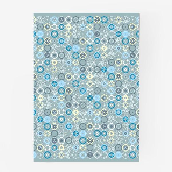 Постер «геометрический паттерн «круги»»