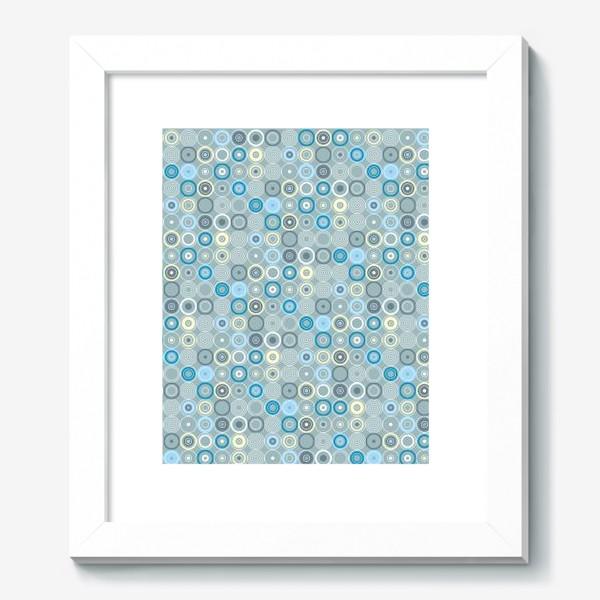 Картина «геометрический паттерн «круги»»