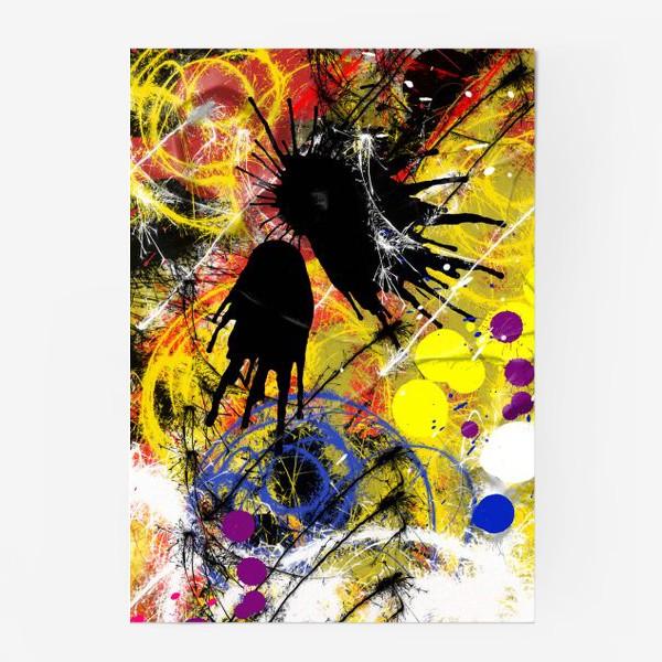 Постер «Пятна и брызги краски»
