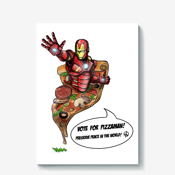 Холст «Железный человек»
