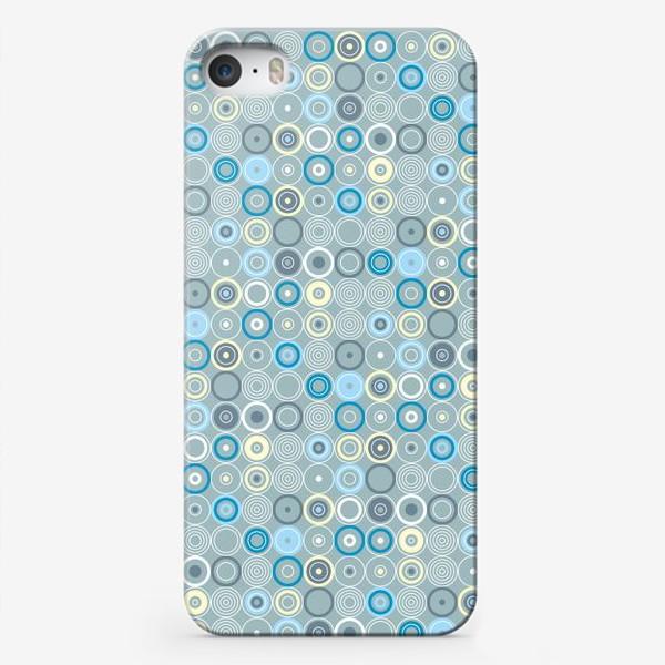Чехол iPhone «геометрический паттерн «круги»»