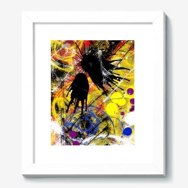 Картина «Пятна и брызги краски»