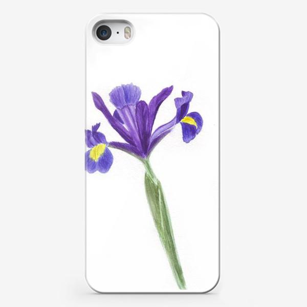 Чехол iPhone «Ирис»