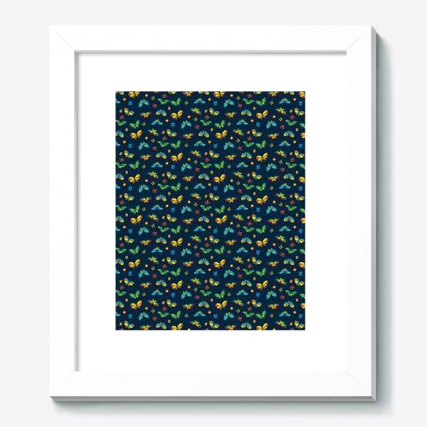 Картина «Тропические бабочки»