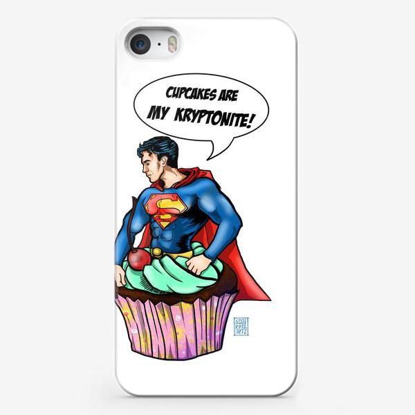 Чехол iPhone «Супермен»