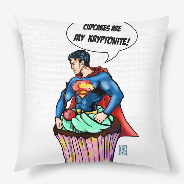 Подушка «Супермен»