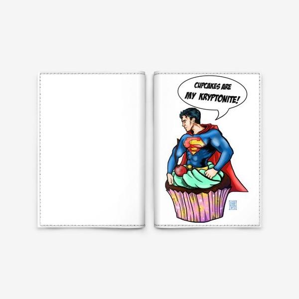 Обложка для паспорта «Супермен»