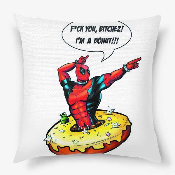 Подушка «Deadpool»