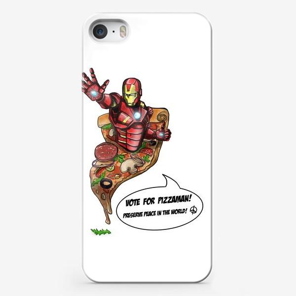 Чехол iPhone «Железный человек»