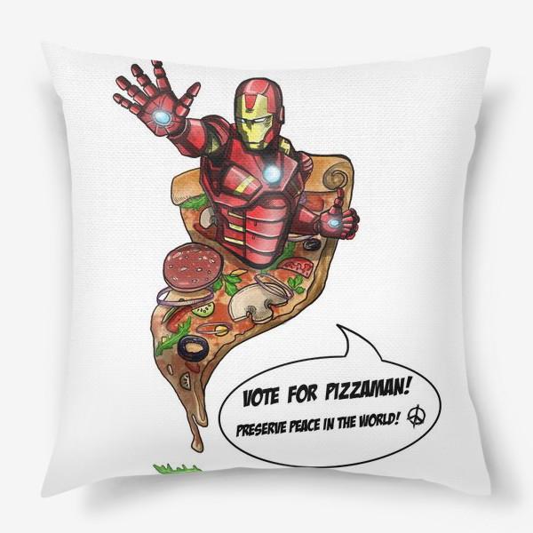 Подушка «Железный человек»