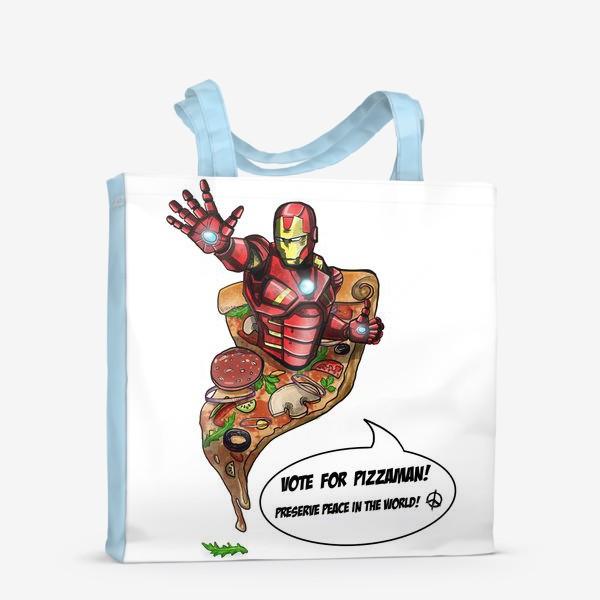 Сумка-шоппер «Железный человек»