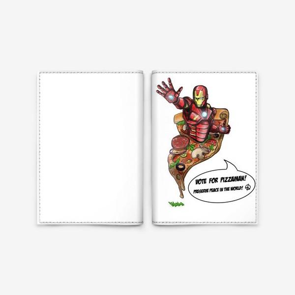 Обложка для паспорта «Железный человек»