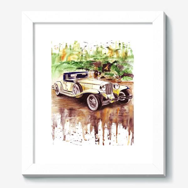 Картина «Ретро автомобиль»