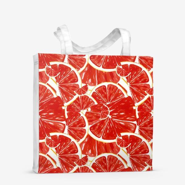 Сумка-шоппер «Сочные грейпфруты»