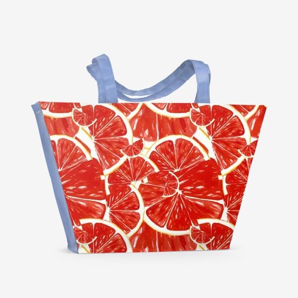 Пляжная сумка «Сочные грейпфруты»