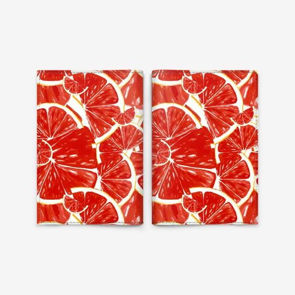 Обложка для паспорта «Сочные грейпфруты»