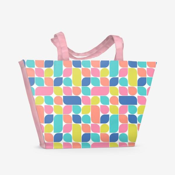 Пляжная сумка «Солнечное ретро»