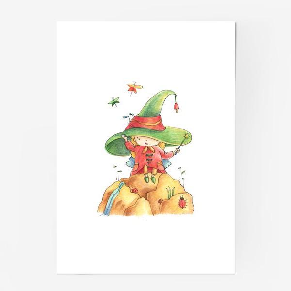 Постер «Wizard»