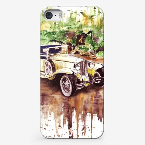 Чехол iPhone «Ретро автомобиль»