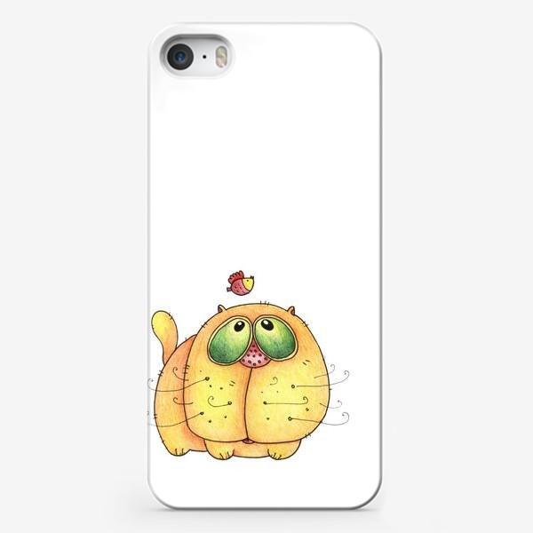 Чехол iPhone «Cat»