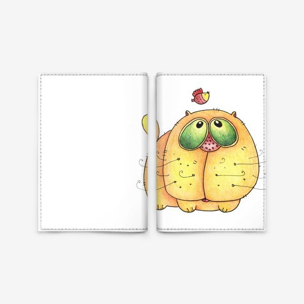 Обложка для паспорта «Cat»