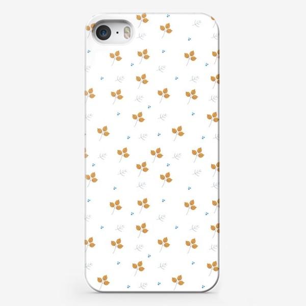 Чехол iPhone «листья паттерн»