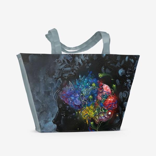Пляжная сумка «Beautifully Minded»