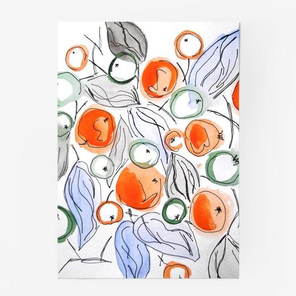 Постер «Ягодный принт»