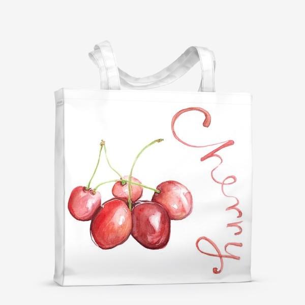 Сумка-шоппер «Вишня Черешня Cherry»