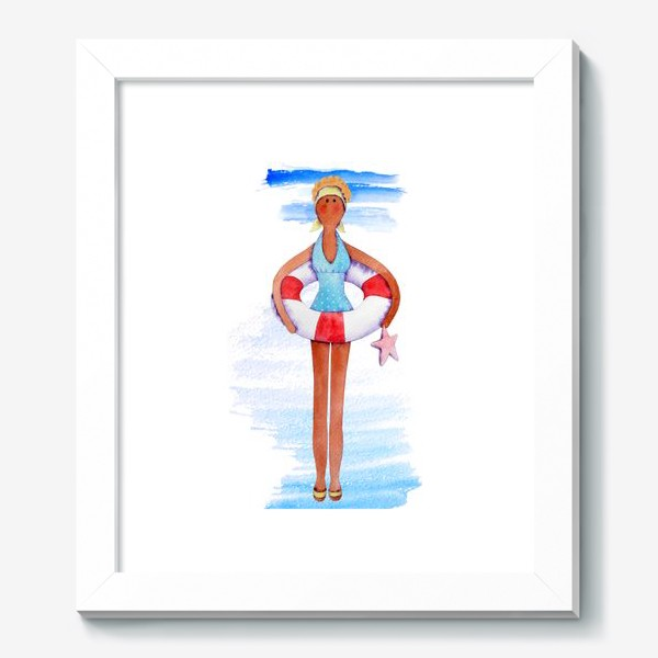 Картина «Тильда-плавчиха»