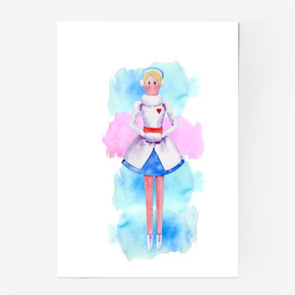 Постер «Тильда Снегурочка»