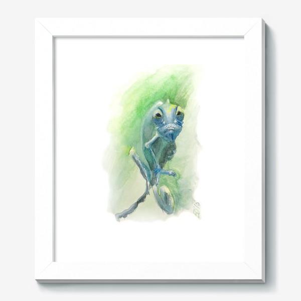 Картина «Синий хамелеон»