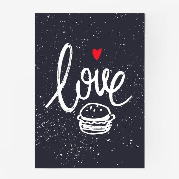 Постер «Love Burger»